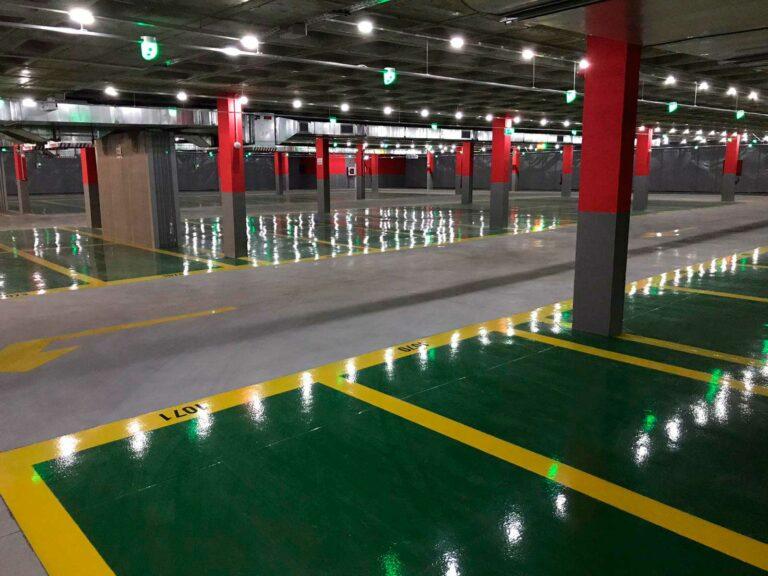 Resina Epoxi Aplicacion Parking