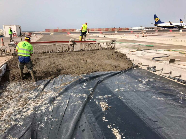 pavimentos plataformas aeropuertos